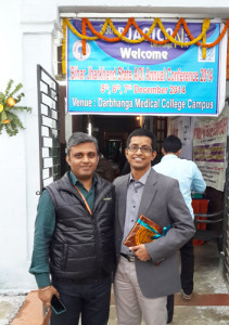 As Guest Faculty in Darbhanga Medical College on Bihar-Jharkhand State ENT Conferrence